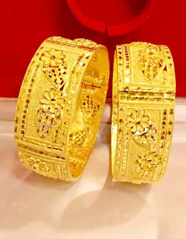 New Stylish Bridal Golden Plated Braclate