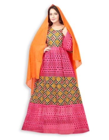 African Attire Embroidered Long Party for Woman Dress