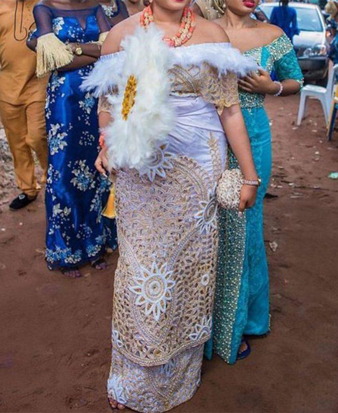 Occasionally White Taffeta George Rhinestone Beaded Traditional Wedding Bridal fabric