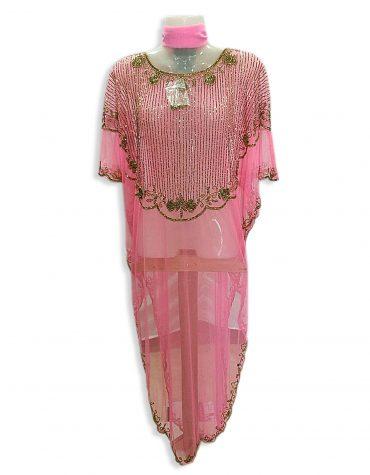 African Abaya Crystal Stone Beaded Dubai Dress for Woman Chiffon Kaftan