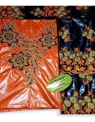 African Rani Riche Dubai New Bazin Embroidery With hand Stone Work