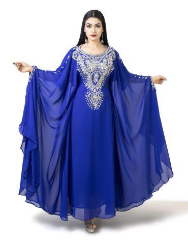 African Fancy Stylish Evening Party Wear Designer Kaftan for Women