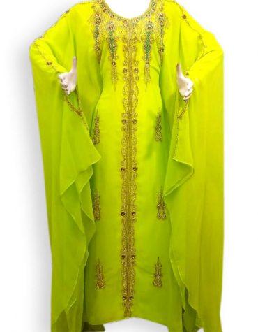 Dubai Farasha Moroccan Beaded Kaftan Wedding Dresses For Women