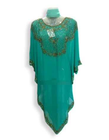 African Formal Maxi Gown Beaded Fancy Dubai Kaftan for Women