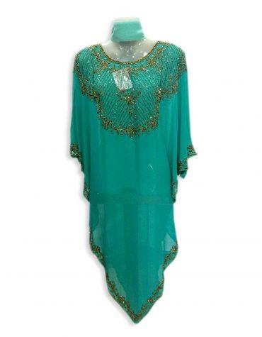 African Formal Maxi Gown Beaded Fancy Dubai Kaftan for Women