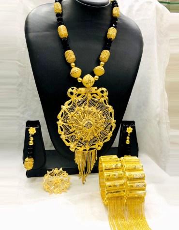 African 2 Gram Gold Neckalce Golden 2021