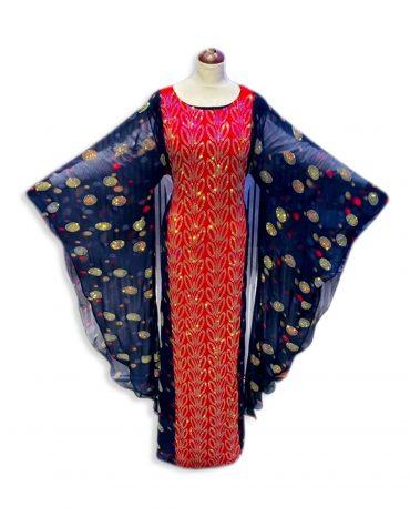 African Attire Dress For Women Abayas Plus Size Moroccan Dubai Kaftan