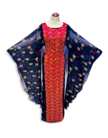 African Attire Dress For Women Abayas Plus Size Moroccan Dubai Kaftan