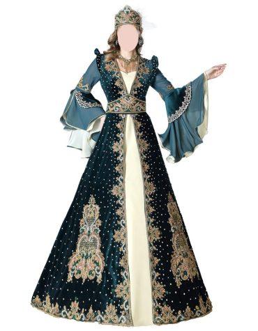 African Attire Wedding Dress Dubai Kaftan Modern Abaya for Women Plus Size