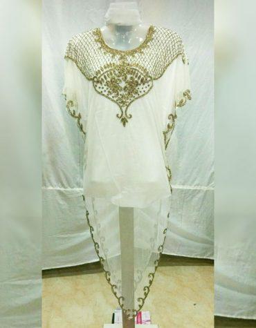 Evening Beach cover Dress Beaded Moroccan Style Plus size Formal Abaya Kaftan
