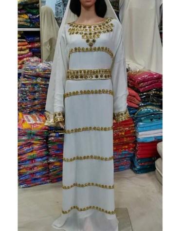 African Attire Kaftan For Beautiful Women Dubai Morrocan Beaded Dresses