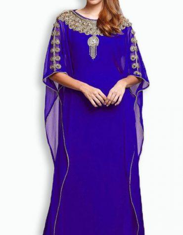 Elegant Maxi Evening Moroccan Formal Abaya Dubai Beaded African Maxi Dresses for Women