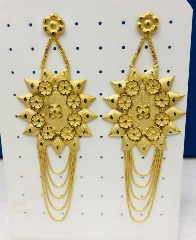 Beautiful Wedding Party African Earring Jewellery Set for Women
