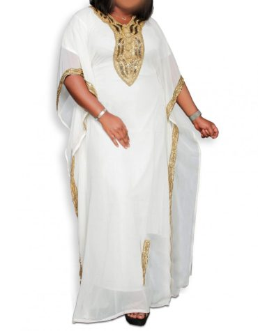 New Evening Gown Party Wear Kaftan Dress With Premium Work For Women