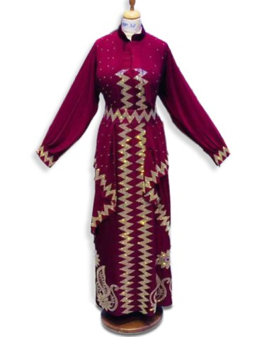 African Boutique Spandex Party Kaftan Rhinestone Long Sleeve dresses for women