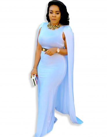 Dubai Kaftan Beaded Moroccan Fancy Cape Long Sleeve White Abaya African Dresses