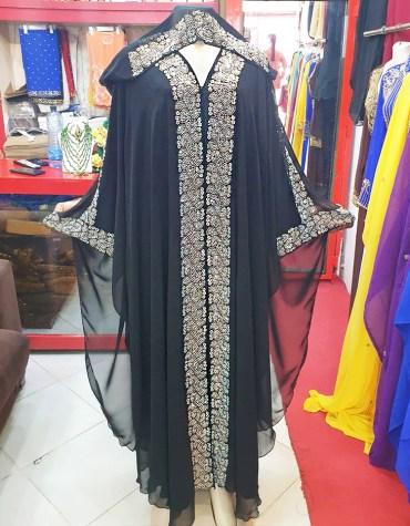 Stylish Premium Designer Dress With Crystals Stone Work Wedding Kaftan For Women