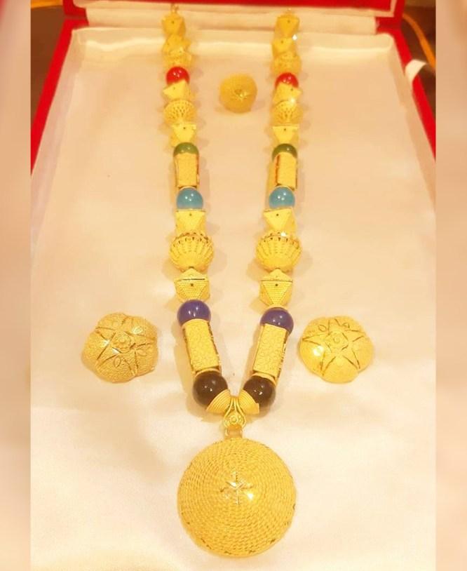 Latest Elegant & Trendy Unique Designer Necklace Set African Jewelry For Women