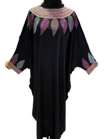 Latest Mix Color Beautiful Rhinestone Work Dress For Women