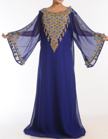 African Attire Golden African Abaya Dresses for Women Party Wear Dubai
