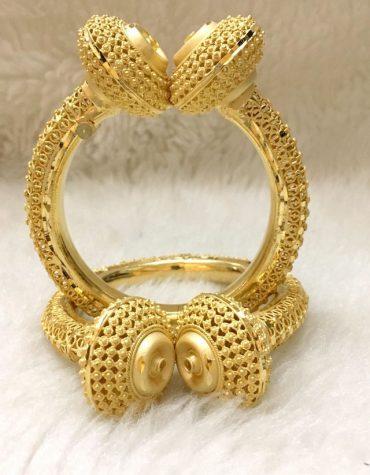African Elegant Fashion Design Party Trendy Bangle Set Jewellery For Women