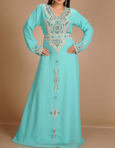 African Attire Dress For Women Party Wear for Chiffon Embroidery Dress Dubai