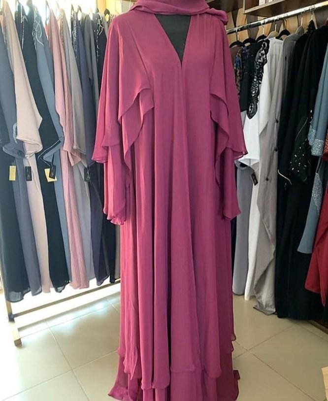 African Latest Attire Long Sleeve African Designer Formal Abaya Dresses for Women