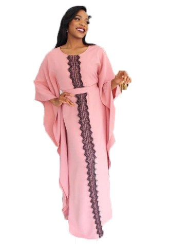 African Kaftan Dresses For Women Dubai Embroidery Work For Party Wear