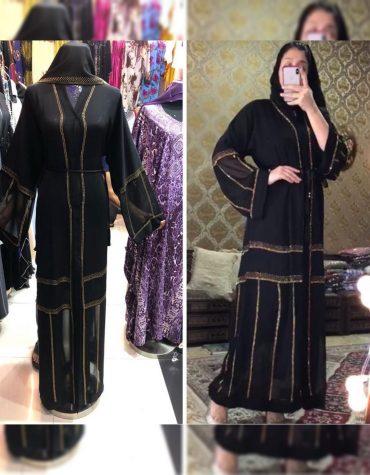 African Attire Dubai Abaya Rhinestone Work Moroccan For Women Party wear
