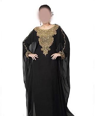 Women Farasha Maxi Arabic Islamic Muslim Abaya Dress Jilbab Kaftan Long Dress