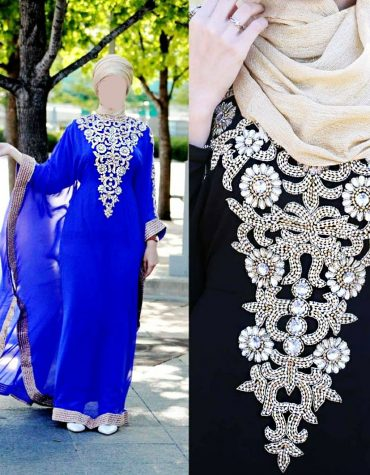 New Premium Long Sleeve Kaftan dresses for Women Evening Party Wear For Women