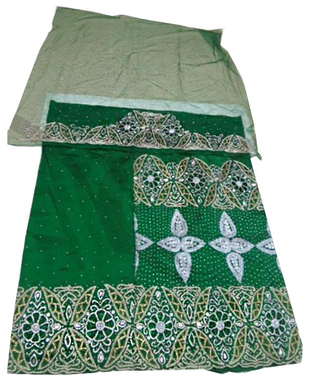 New Collection Premium Heavy Wedding Dress Material Silk Nigerian George For Women