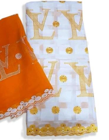 New Elegant Fancy Swiss Voile Designer Cotton Piece Dubai Embroidery Dress Material