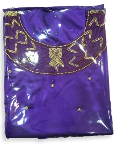 Latest Dubai Fashion Collection Designer Satin Silk Party Wear Dress Material For Women