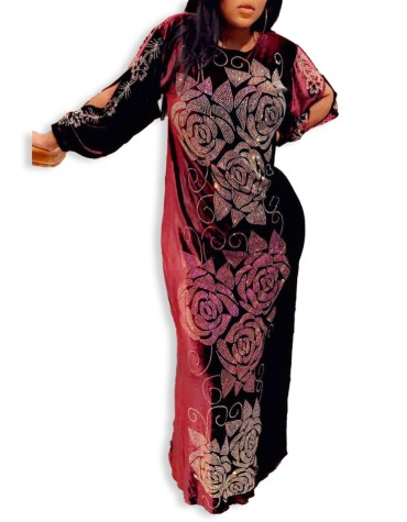 New Latest Designer Trendy Moroccon Rosalee Design Elegant Dubai Kaftan Party Wear For Women