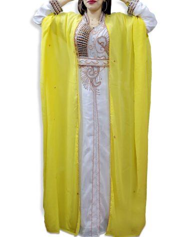 New African Attire Jacket Party Wear for Women For Wedding Dubai Long Kaftan