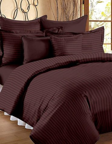 Regal 220 TC Cotton King Size Bed Sheet with 2 Pillow Covers