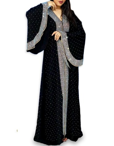 New Arrived Fancy and Premium Quality African Trendy Party Wear Designer Abaya