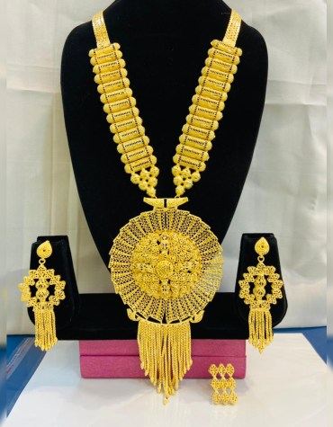 Latest Fashionable Trendy Unique Designer Necklace Set African Jewellery For Women