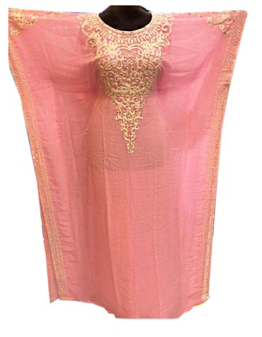 African Modern Embroidery Evening Party Gown Long Kaftan Dresses For Women