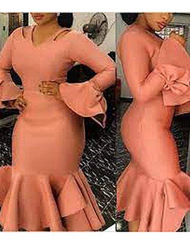 Party Wear Designer Lycra kaftan with Moroccan bottom Tie Bow Pattern