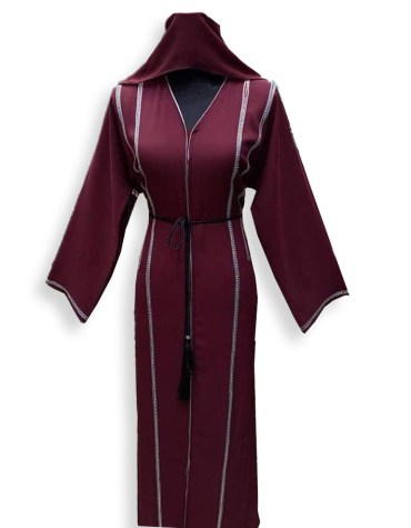 New Elegant Designer Heavy Beaded Work And Premium Quality African Party Wear Abaya For Women