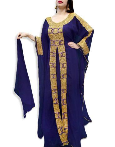 Premium Kaftan Muslim Wedding Collection Arabian Dress Fancy Gown for Women