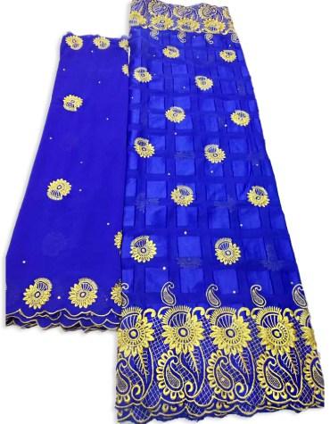 Premium Brilliant Swiss Voile Designer Cotton Piece Super Embroidery Dress Material