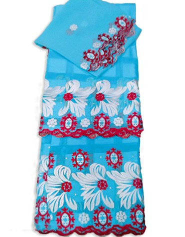 Premium Quality Designer Swiss Voile Super Cotton Piece With Embroidery Dress Material