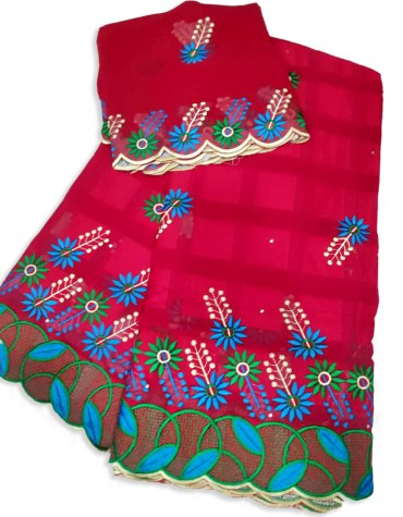 Classic Elegant Fancy Fashion Swiss Voile Cotton Piece With Embroidery Dress Material