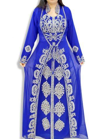 Abaya for Women Muslim Bridesmaids Dress Plus Size Jacket Dubai Kaftan