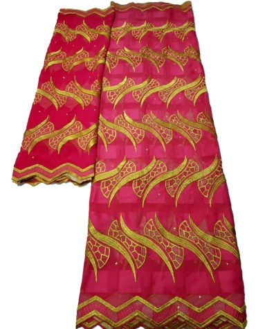 Quality Swiss Voile Designer Cotton Piece Dubai Embroidery Dress Material For Women