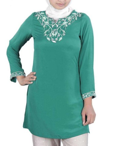 New Arrived African Summer Wear Stylish Decent Embroided Kurti for Women