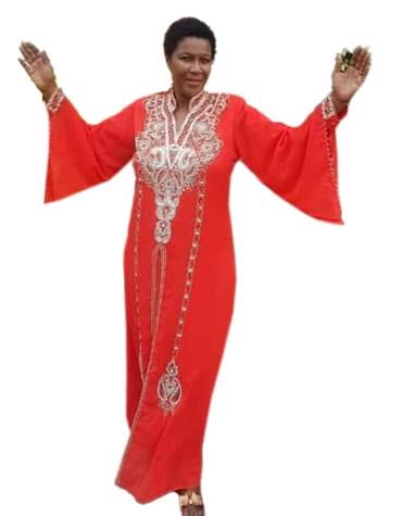 New Exclusive Designer Silver Beaded Dubai Elegant Jalabiya Maxi Gown Kaftan